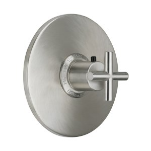 "Tiburon Styletherm (R) 3/4"" Thermostatic Trim Only - Satin Chrome"