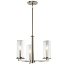 Crosby Collection Crosby 3 Light Chandelier/Semi Flush NI
