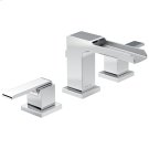 Chrome Two Handle Widespread Channel Bathroom Faucet Product Image