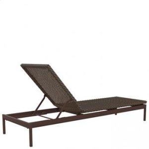 "Cabana Club Woven 12"" Armless Chaise Lounge"