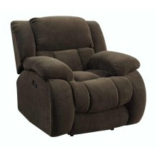 Weissman Brown Glider Recliner