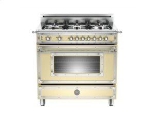 Matt-cream 36 6-Burner, Gas Oven