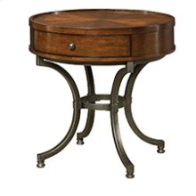 Barrow Round End Table