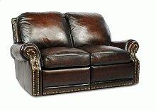 25-6600 Premier II Loveseat (Leather) 5407-41 Stetson Coffee