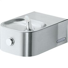 Elkay Soft Sides Single Fountain Non-Filtered Non-Refrigerated, Stainless