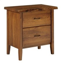 Victor 2 Drawer Nightstand