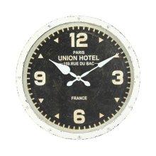 Hands of Steel Wall Clock