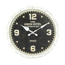 Hands of Steel Wall Clock