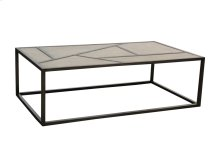 Coffee Table, Available in Silver Pearl Finish Only
