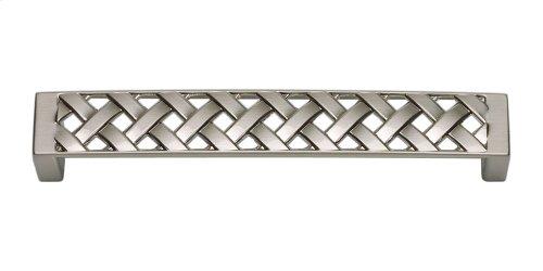 Lattice Pull 5 1/16 Inch (c-c) - Brushed Nickel