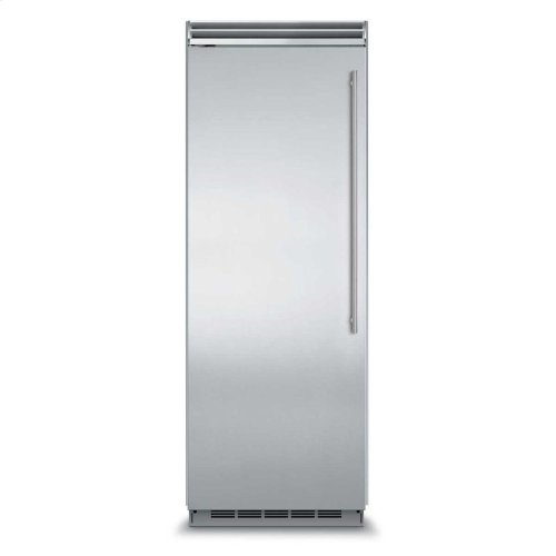 "Marvel Professional Built-In 30"" All Refrigerator - Solid Stainless Steel Door - Right Hinge, Slim Designer Handle"