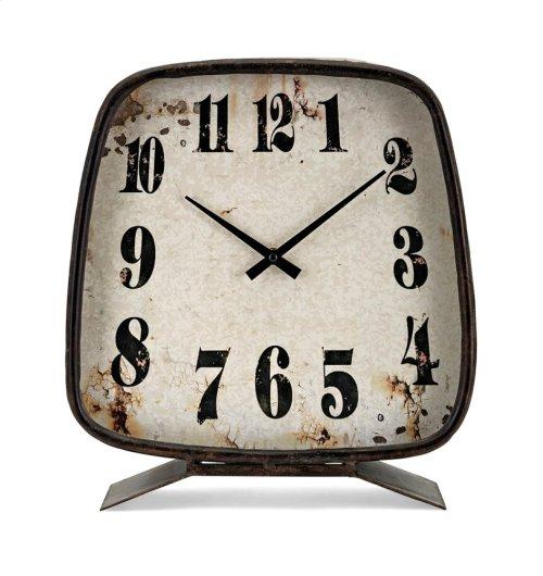 Albert Metal Clock