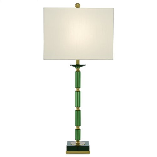 Copula Green Table Lamp