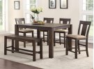 Dining Table, 4 Chairs & Bench Product Image