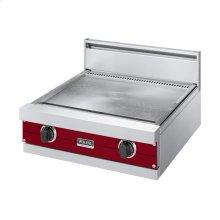 "Apple Red 24"" Griddle/Simmer Plate - VGGT (24"" wide griddle/simmer plate)"