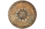 "Notre Dame 20"" Round Marble Mosaic Table Top"