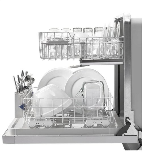 Dishwasher with AnyWare Plus Silverware Basket