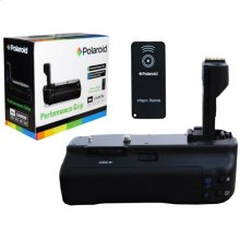 Polaroid Wireless Performance Battery Grip For Canon Eos 50D, 40D, 30D, 20D Digital Slr Cameras (PL-GR1850D)