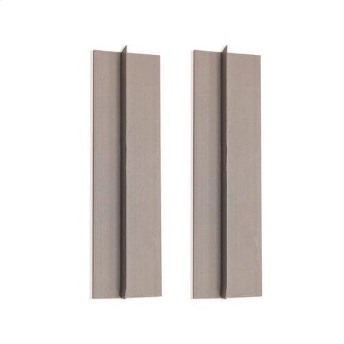 "pair of 72"" tile flanges for bathtub or shower base installation"