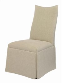 Chandler Curved Back With Scoop Top Chair With Casters Product Image