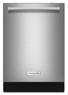 46 DBA Dishwasher with Third Level Rack, Bottle Wash and PrintShield™ Finish - PrintShield Stainless