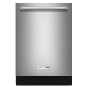 KITCHENAID46 DBA Dishwasher with Third Level Rack, Bottle Wash and PrintShield Finish - PrintShield Stainless