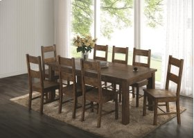 Table with Six Side Chairs