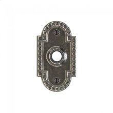 Corbel Arched Escutcheon - E30603 Silicon Bronze Brushed