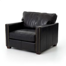 Old Saddle Black Cover Larkin Club Chair