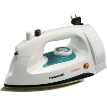 Steam Iron with Non-Stick Coated Titanium Soleplate