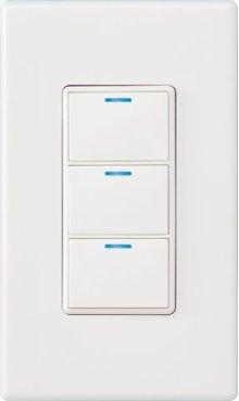 Control4® Wireless 3 Button Keypad