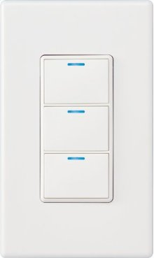 Control4® Wireless 3 Button Keypad