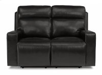 Niko Leather Power Reclining Loveseat with Power Headrests Product Image