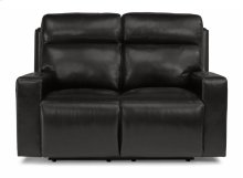 Niko Leather Power Reclining Loveseat with Power Headrests