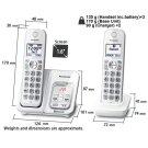 KX-TGD593 Cordless Phones Product Image
