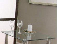 Napoli Sq. Glass End Tbl Top
