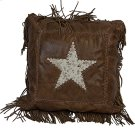 Cowhide Star Leather W/ Fringe Product Image