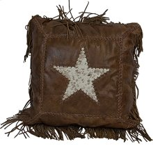 Cowhide Star Leather W/ Fringe