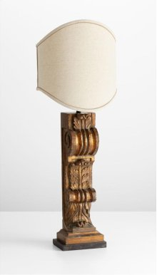 Sacha Table Lamp Guilded Butternut