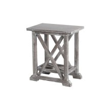 Accent Table, Available in Vintage Smoke Finsih Only.
