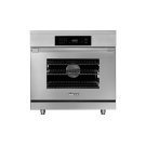 """36"""" Heritage Induction Pro Range, Silver Stainless Steel Product Image"""