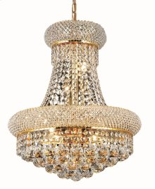 1800 Primo Collection Hanging Fixture Gold Finish