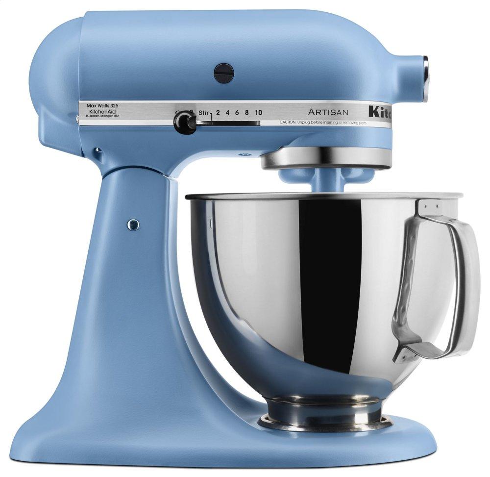 Artisan(R) Series 5 Quart Tilt-Head Stand Mixer - Matte Vintage Blue  MATTE VINTAGE BLUE