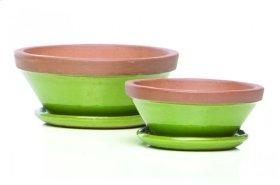 Beatrix Bowl w/ saucer, Sage - Set of 2