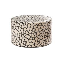 Ceramic Artisan Series Baby Caroness Accent Table