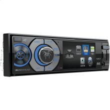 "3.4"" Single-DIN In-Dash DVD Receiver with Bluetooth®"