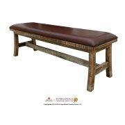 Breakfast Bench w/Bondedleather Seat Product Image
