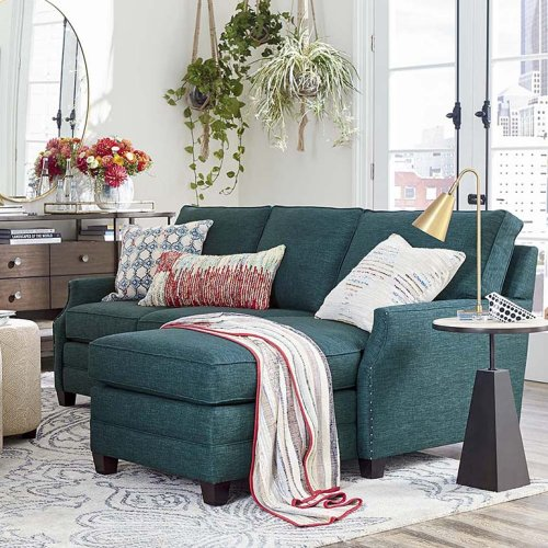 Studio Loft Connor Small L-Shaped Sectional