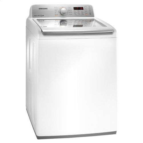 4.5 cu. ft. King-Size Capacity High-Efficiency Top Load Washer (White)