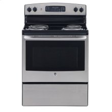 """30"""" Free Standing Electric Self Cleaning Range"""